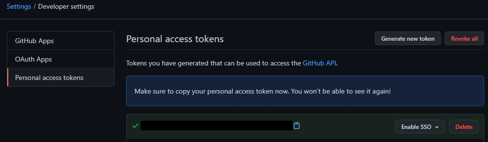 Secret token image