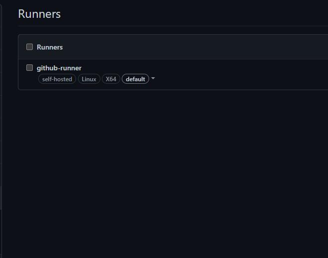 Self-Hosted GitHub-Runner